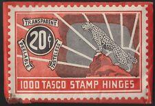 Vintage Ca 1940S Tasco Stamp Hinges! Tatham Stamp & Coin Rare Supply Item Sealed
