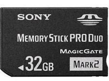 32GB 32Go Mark2 Memory Stick Card MS Memoria Tarjeta Pro Du Pour SONY PSP CAMERA