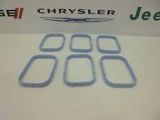 11-17 Chrysler Dodge Jeep Ram New Intake Manifold Gasket Set of 6 Mopar Oem