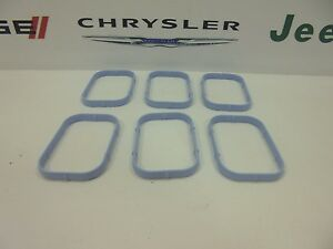 11-17 Chrysler Dodge Jeep Ram New Intake Manifold Gasket Set of 6 Mopar Oem