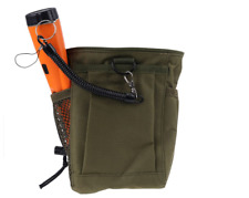 Metal Detector Pouch Bag Digger Finds Carry Pad Detecting Storage Case Waist