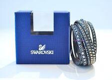 Swarovski Crystal Slake Deluxe Gray Bracelet 5120524 Authentic Brand New In Box