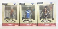 AVATAR THE LAST AIRBENDER AANG , KATARA & ZUKO LOT DIAMOND SELECT NEW 2019