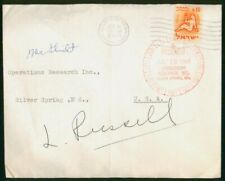 Mayfairstamps Israel 1965 to Operations Research Inc Sliver Springs MD Cover wwo