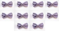 LOT OF 10 Lavender Purple Men's Adjustable Bowties/Bow tie Tuxedo Wedding
