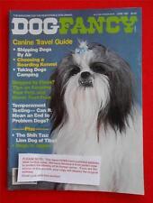 RARE Collectible ~ SHIH TZU Issue ~ DOG FANCY Magazine ~ June 1987 #