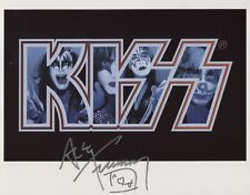 Ace Frehley Kiss (Band) Signed 8 x 10 Photo Genuine In Person + COA