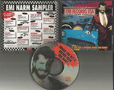 1991 PROMO CD w/ ROXETTE Alias PET SHOP BOYS Robert Palmer QUEENSRYCHE O'jays  e