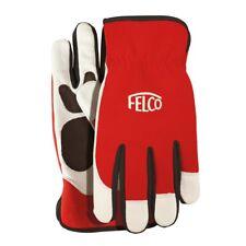 Felco Work Gloves Model 702 - soft leather with elasticated cuff - Genuine Felco