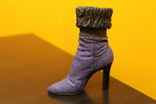 "Larger Raine Just The Right Shoe ""Purple Dream"" miniature item # 25037 with Coa"