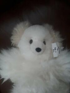Handmade 100% Alpaca fur teddy bear stuffed animal