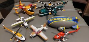 Disney Pixar Cars Planes lot. 7 aircraft. All in excellent condition.