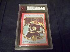 1973-74 OPC O-Pee-Chee #30 Bobby Orr Dark Back Bruins KSA 6.5 ENM+