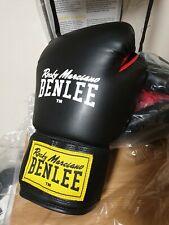 Benlee Rocky Marciano Noir Rouge 12 oz (environ 340.19 g) Rodney Cuir Artificiel Gants De Boxe