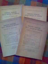 MEMORIE STORICHE DELLA DIOCESI DI BRESCIA - annata completa 1953  sotto i titoli