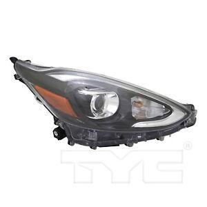 Headlight Front Lamp for 18-19 Toyota Prius C Bi-LED Right Passenger