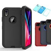 Hybrid Case Protective Rugged Heavy Duty Shockproof Cover for iPhone XR/XS Max