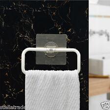 rettangolare TELO Anello da parete Asciugamano STAND plasticbathroom