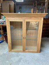 Marks & Spencer Lichfield Oak Display Cabinet Dresser Top with Doors