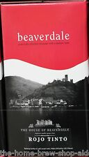 Beaverdale Red Wine Kit Rojo Tinto - Home Brewing - 30 Bottle - 23 ltrs 5g