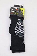 Smartwool Boys' Ski Racer Socks Black/White (Toddler-Youth) Medium