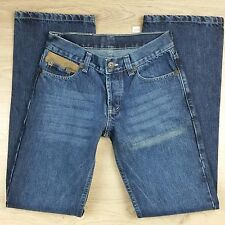Absolute Joy Mens Jeans Size 31 100% Cotton Styled in Italy W27 L33.5 (C10)