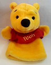 "Mattel & Disney Winnie the Pooh Bear 9"" Hand Puppet - Red Shirt, Learning Aid"