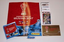PANINI Confederation Cup 2017 Komplettset + Album + Tüte