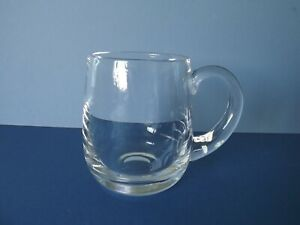 DARTINGTON CRYSTAL ¾ PINT GLASS TANKARD