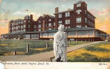 Virginia Beach Virginia 1911 Postcard Princess Anne Hotel