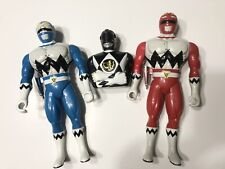 Lot of 3 Vintage 1993-1999 Bandai Power Rangers Action Figure Bust Set