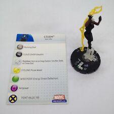 Heroclix Mutations and Monsters set Storm #057 Super Rare figure w/card!