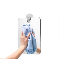 1x Anti-Fog Bathroom Shower Mirror No Fog Shaving Fogless Suction Cup Mount