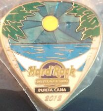 Hard Rock Hotel PUNTA CANA 2012 POSTCARD Series Guitar Pick PIN Post Card #68251