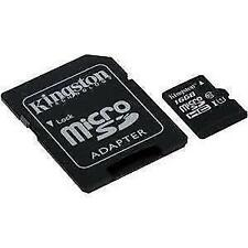 Kingston Digital 16gb microSDHC Class 10 Uhs-i 45mb/s Read Card With SD Adapte