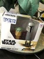 New 2020 Rare Disney Star Wars Mandalorian and The Child Pez Two Pack Baby Yoda