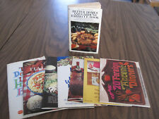 8 superb used little gourmet recipe Pamphlets
