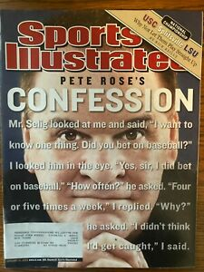 Sports Illustrated January 12, 2004 - Pete Rose