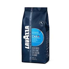 1kg (2x500g) LAVAZZA DECAFFEINATO DEK chicchi di caffè 500g x 2 FORESTA PLUVIALE Rfa