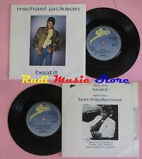 LP 45 7'' MICHAEL JACKSON Beat it Burn this disco out 1983 england cd mc dvd
