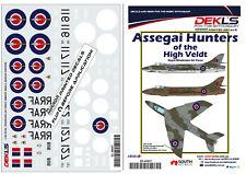 1/48 Hawker Hunter - Assegai Hunters of the High Veldt RhAF Decals