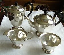 Vintage Silver Plated EPNS 4 Piece Coffee/tea Set Viners Of Sheffield