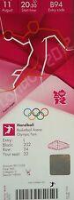 TICKET Olympia 11.8.2012 Women's Handball Finale Norwegen - Montenegro B94