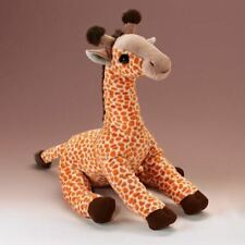 "Giraffe Sitting Stuffed Animal Plush Toy 14""H"