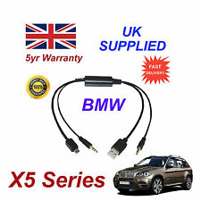 BMW X5 Series Audio Cable For Samsung Galaxy, HTC, Blackberry, LG, Nokia Sony