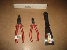 Profi Werkzeug Set Werkstatt Heimwerker 3 teilig mit Seitenschneider u Zange 119
