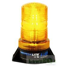 Led Strobe Light 12-80V Amber Permanent Mount