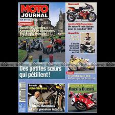 MOTO JOURNAL N°1185 DUCATI MOSTRO 600 KAWASAKI ELIMINATOR SUZUKI VS INTRUDER '95