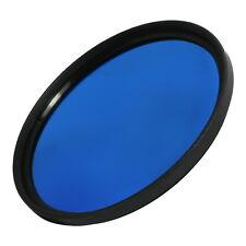 77mm M77 Full Blue Color Conversion Lens Filter Screw Mount for DSLR SLR Camera