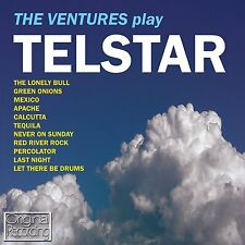 THE VENTURES ~ TELSTAR NEW CD APACHE / GREEN ONIONS / + OTHER ROCK INSTRUMENTALS